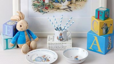 Peter Rabbit Nurseryware and Giftware at Wedgwood