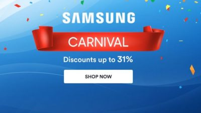31% Off Samsung Carnival at Souq.com Egypt