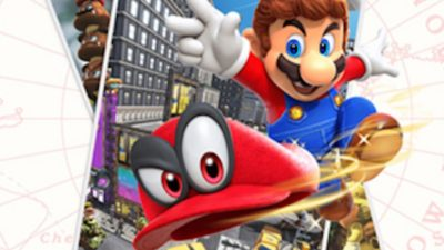 Super Mario Odyssey and The Nintendo Switch Super Mario Odyssey Bundle at GameStop