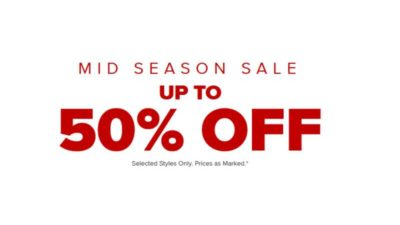 Up to 50% Off Mid Season SALE at CROCS UK