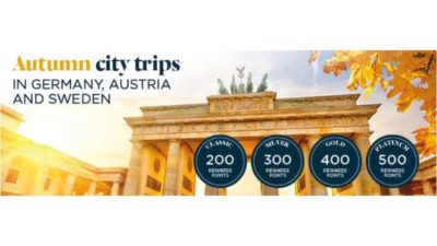Upto 500 Bonus Points at Accor Hotels in Europe