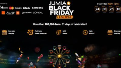 Get READY for BLACK FRIDAY DEALS at JUMIA