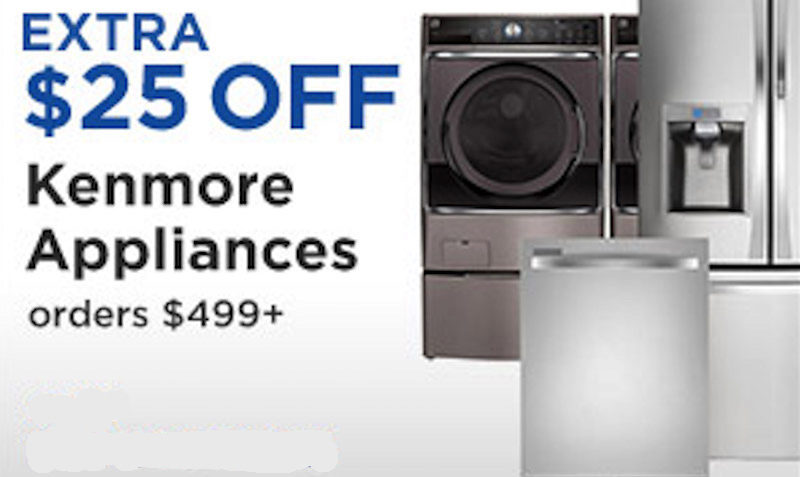 kenmore sears coupon