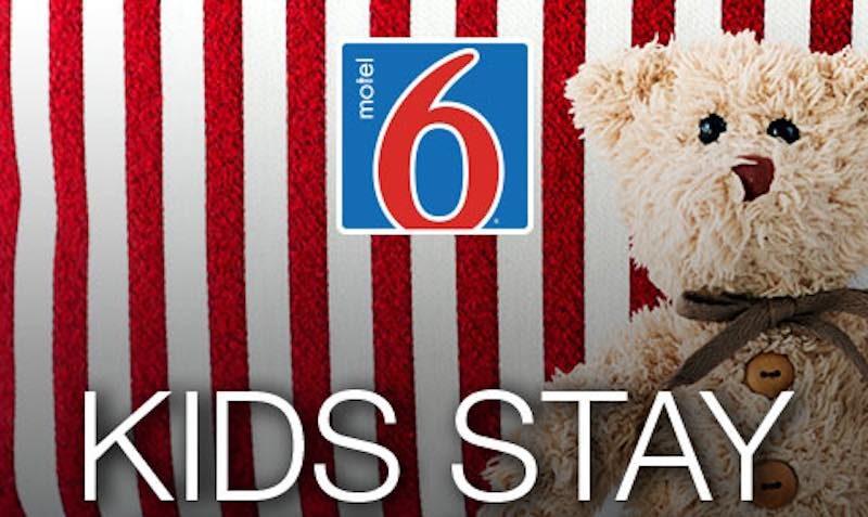 motel 6 kids stay free