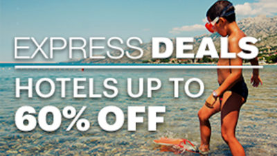 60% Off Last Minute Express DEALS on Hotels at Priceline