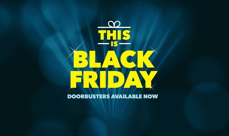 Black Friday Doorbusters at BestBuy