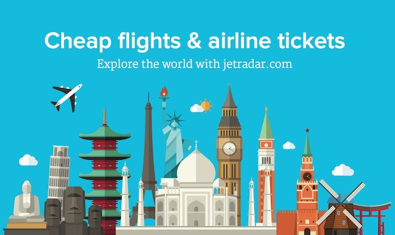 Flight DEALS at JetRadar