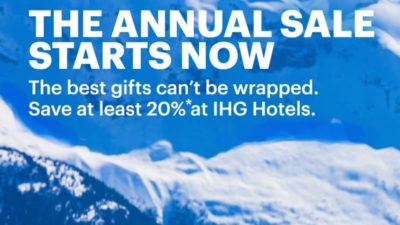 IHG Annual Sale!