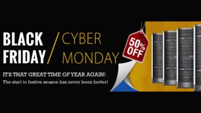 50% Off Black Friday on Hosting at Interserver Hosting