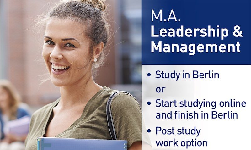 Master Leadership and Management at IUBH School of Business and Management application fee discount coupon