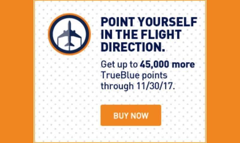 Upto 45,000 BONUS Jet Blue Points at Points.com