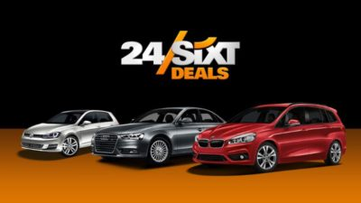 sixt car rental deals
