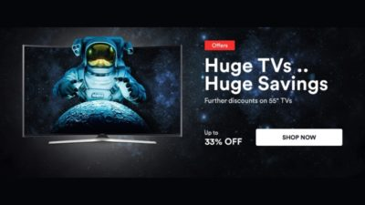 33% Off SALE on TVs at SOUQ Egypt
