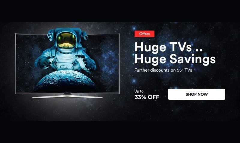 33% Off SALE on TVs at SOUQ Egypt