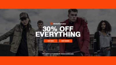 30% OFF SALE at Superdry