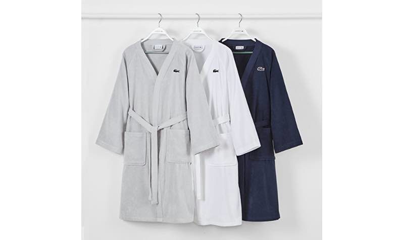 15% Off Discount Coupon on Lacoste robes at Amazon