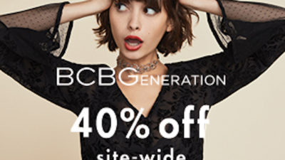 40% Off Discount SALE at BCBGeneration