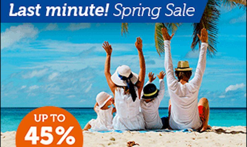 45% Off Discount at Barcelo Hotels