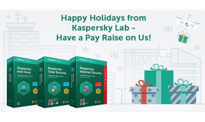 60% Off Christmas Holidays Special SALE at Kaspersky Lab