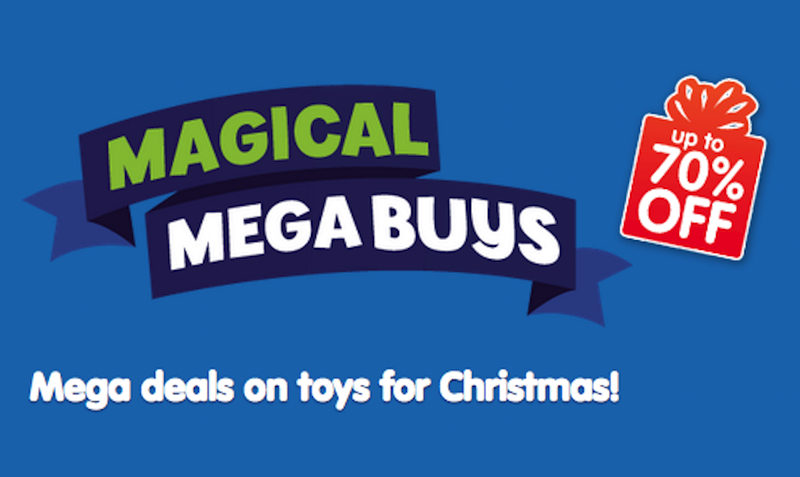70% Off Discount Magical Megabuys SALE at The Entertainer Toy Shop