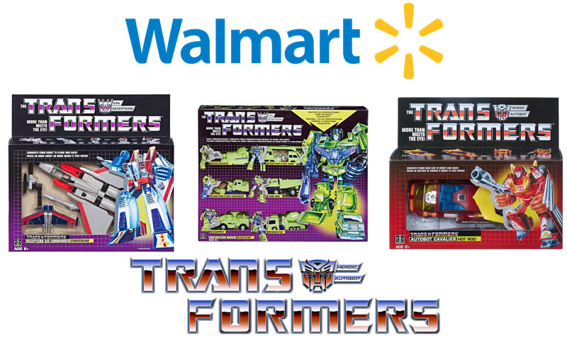 Exclusive Transformers G1 Reissues DEALS at Walmart.com