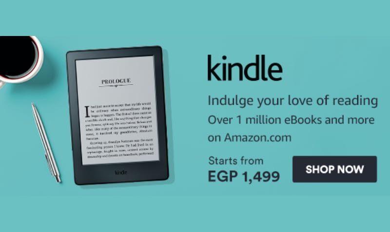 Kindle Sale at SOUQ Egypt