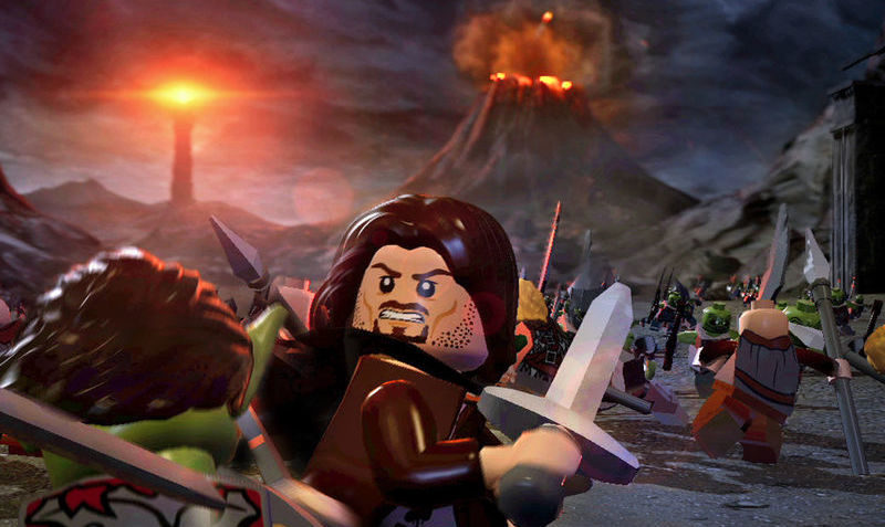 LEGO The Lord of the Rings for $4.99 on iTunes Mac Appstore