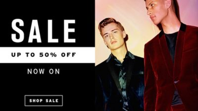 Up to 50% Off Discount SALE at Topman USA