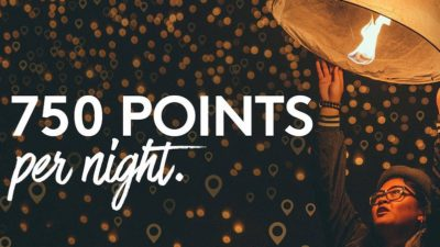 Starting with your third night, earn 750 bonus points on every night of every stay, up to 36,000 points.