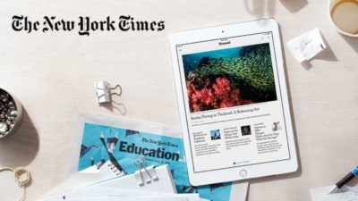 Student Discount DEAL on New York Times Susbcription