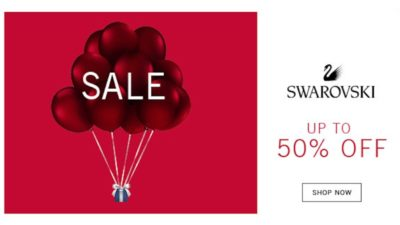 Upto 50% Off Winter SALE at Swarovski