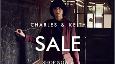 Upto 50% Off End of Season SALE at Charles & Keith USA