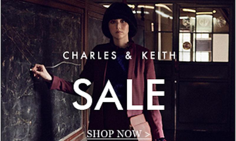 Upto 50% Off End of Season SALE at Charles & Keith USA
