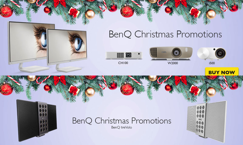 Holiday SALE DEALS at BenQ in Europe