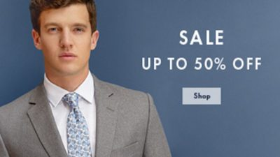 duchamp 50% off Men's Designer Shirts, Tailoring, Ties, Socks and accessories.
