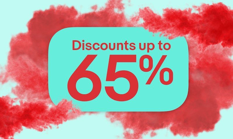 Upto 65% Off Discount SALE at eBay