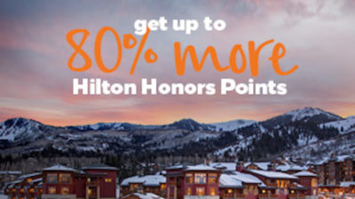 hilton honors points bonus points.com