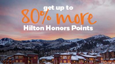hilton honors points bonus points.com