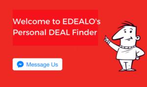 edealo personal deal finder service