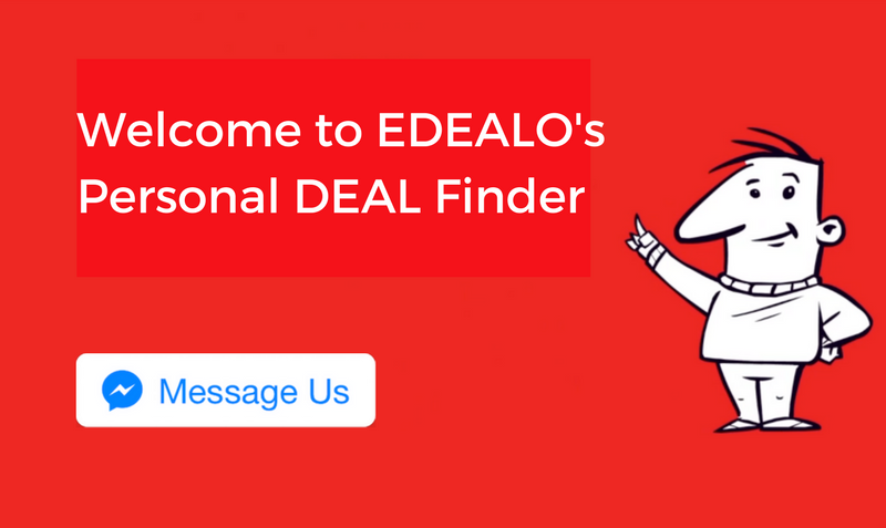 edealo personal deal finder service