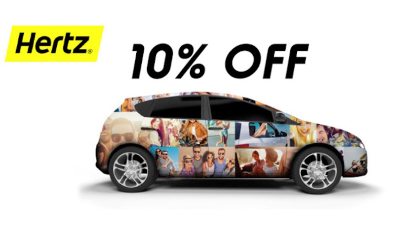 10% Off Promo Code On Weekly Car Rentals At Hertz