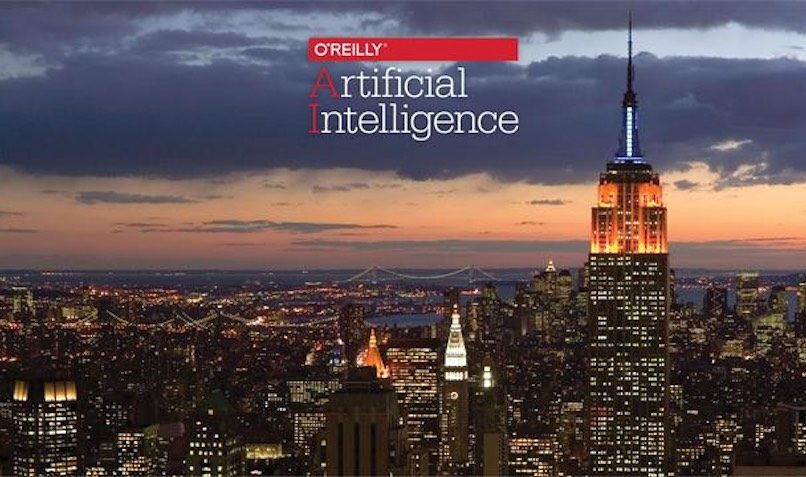 20% O'Reilly Promo Code for NY's Artificial Intelligence Conference