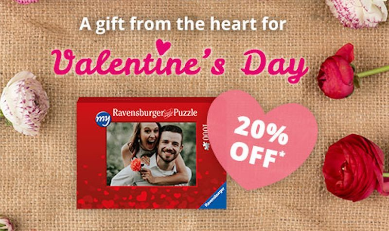 20% Off Valentines Day SALE at Ravensburger