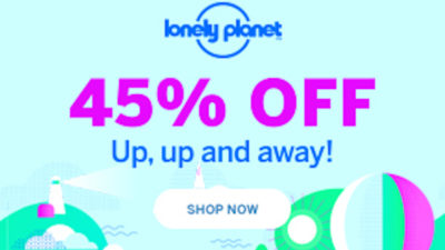 45% Off Discount SALE at Lonely Planet