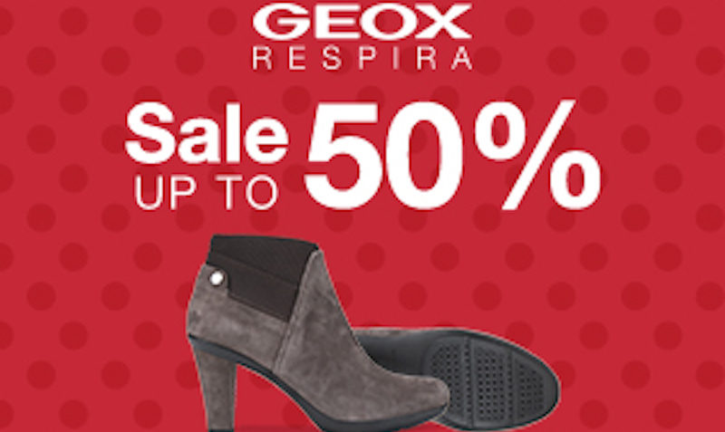 Geox coupons discounts