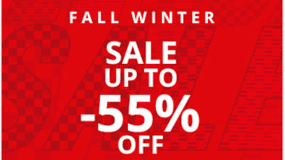 55% off sale at ferrari store
