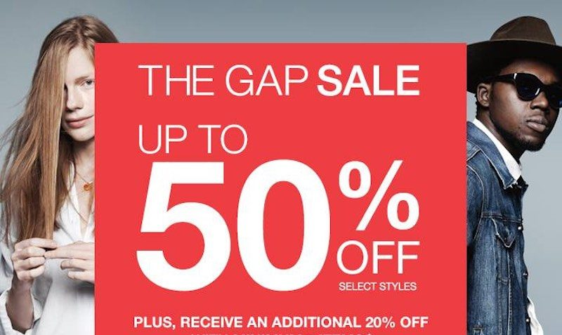 Easter Sale Gap