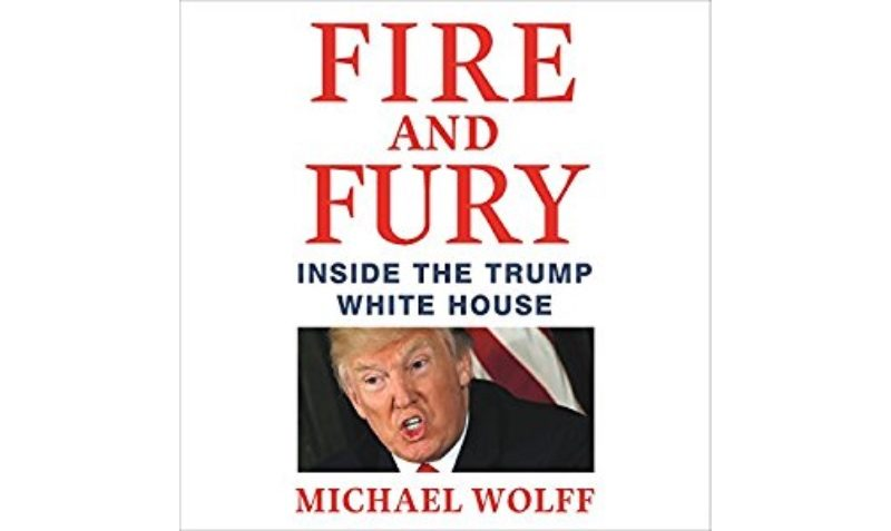 FREE Fire and Fury: Inside the Trump White House Audiobook at Amazon
