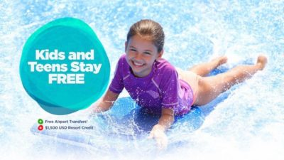 Kids and Teens Stay FREE DEAL at Moon Palace Jamaica by Palace Resorts