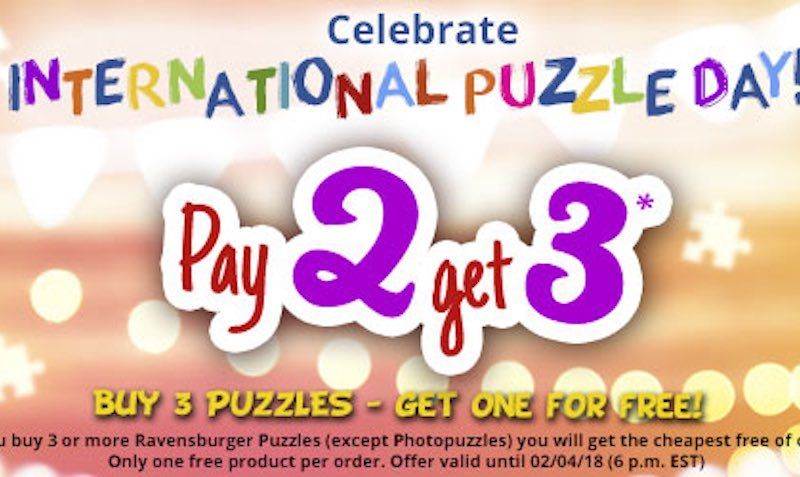 Pay 2 Get 3 Board Games SALE at Ravensburger